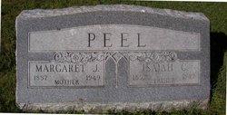 Margaret Jane <I>Rickman</I> Peel