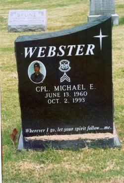 Corp Michael E. Webster