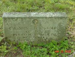 Cassius E Brockman
