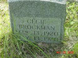 Cecil Brockman