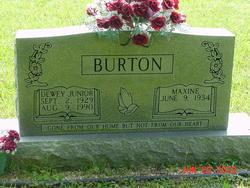 Maxine <I>Kerr</I> Burton