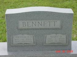 Lawrence R Bennett