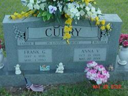 Anna V <I>Murrell</I> Curry