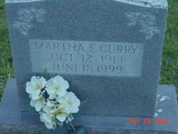 Martha E Curry