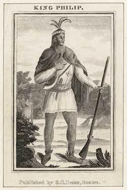 """""""King Phillip"""" Metacomet"""