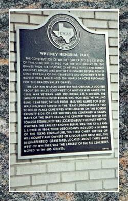 Whitney Memorial Park