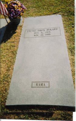 Cecile Corine <I>Davis</I> Rykard