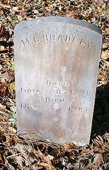 """Mary Elvira """"Polly"""" <I>Trentham</I> Bradley"""