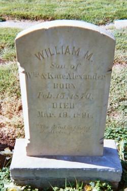 William M. Alexander