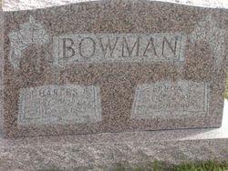 Freda Thompson <I>Rogers</I> Bowman