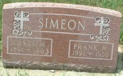 Agnes Marie <I>Boden</I> Simeon