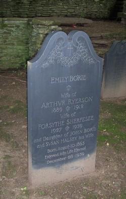 Emily Maria <I>Borie</I> Sherfesee