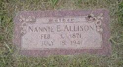 Nannie Ellen <I>Gray</I> Allison