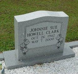 Johnnie Sue <I>Howell</I> Clark