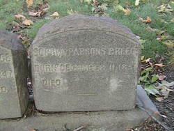Sophia <I>Parsons</I> Breece