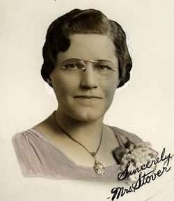 Clara Mae <I>Lewis</I> Stover