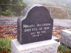 Honora Anderson