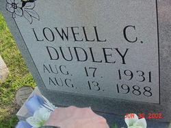 Lowell C Dudley