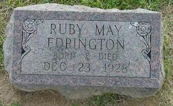 Ruby May Edrington