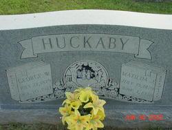 "Matilda Jane ""Tilda"" <I>Frost</I> Huckaby"