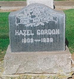 Hazel <I>Tomsky</I> Gordon