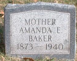 Amanda  Mandy Evangeline <I>Nevins</I> Baker