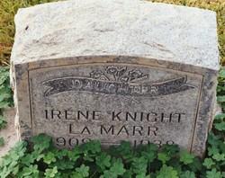Irene <I>Knight</I> La Marr