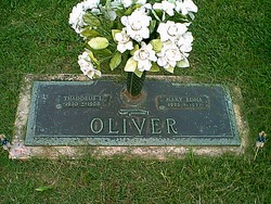 Mary Edna <I>West</I> Oliver