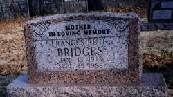 Frances Ruth <I>Cochran</I> Bridges
