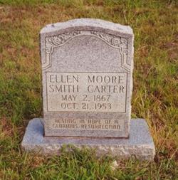 Rebecca Ellen <I>Moore</I> Smith Carter