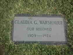 Claudia G Warshauer