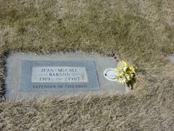 Jean <I>McCall</I> Babson
