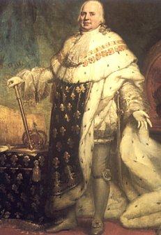 King Louis XVIII