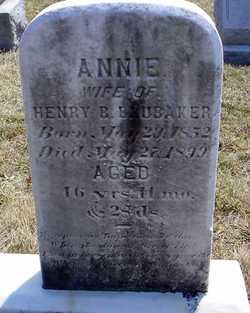 Annie <I>Gibble</I> Brubaker