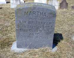 Martha S <I>Zink</I> Brubaker