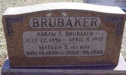 Abram Shenk Brubaker