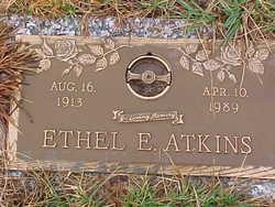 Ethel Evelyn <I>Greenhill</I> Atkins