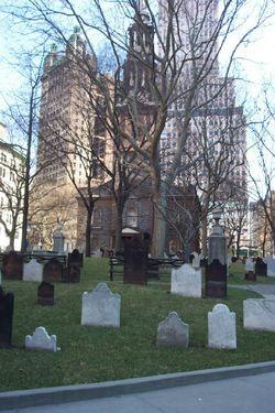 Saint Paul's Chapel and Churchyard
