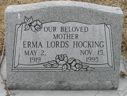 Erma <I>Lords</I> Hocking