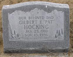 "Gilbert Ernest ""Pat"" Hocking"