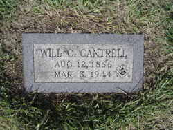 Will C Cantrell