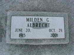Milden G Albrecht