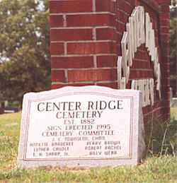 Center Ridge Cemetery