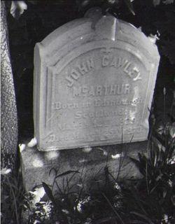 John Cawley McArthur