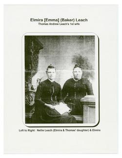 Elmira Emma <I>Baker</I> Leach