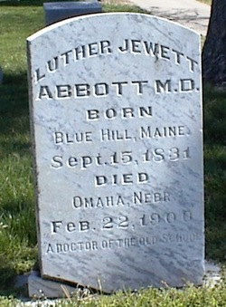 Dr Luther Jewett Abbott