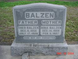 Theodore Heinrich Balzen