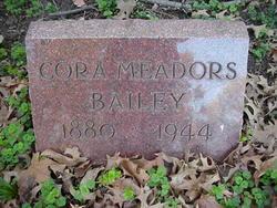 Cora B <I>Meadors</I> Bailey