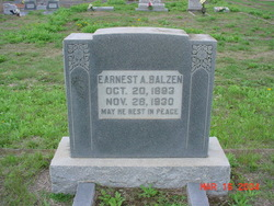 Earnest August Balzen