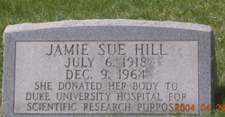 Jamie Sue Hill